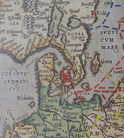 Karta Tyskland Tag.Schleswig Holstein En Dansk Tysk Historia Tysk Var Med Tag I