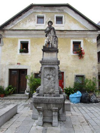 Minnesmärket över Josipina Hočevar.