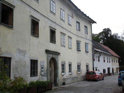 Magušar-huset på Trubarjeva-gatan.