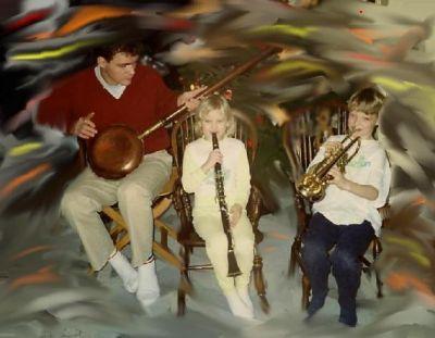 Musik ska byggas utav glädje.