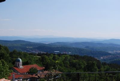 Utsikt från Arbanassi.