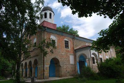 Kyrkan Sv. Bogoroditsa i Kalofer.