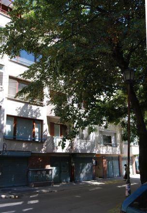 Huset i Plovdiv där Ginka bor.