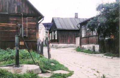 Włodawa, polsk ort vid vitryska gränsen, nordost om Lublin. Foto: Ulf Irheden.