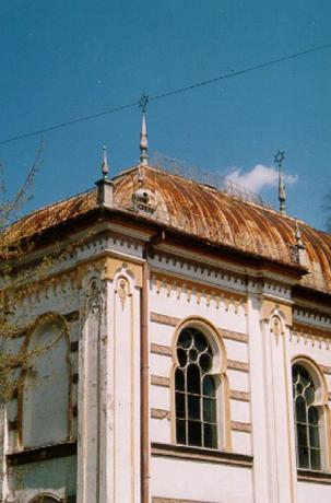 Synagogan i Vatra Dornei.