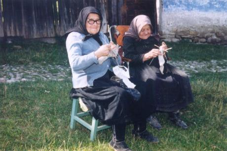 Fru Orend och fru Markel, Deutsch-Weisskirch.