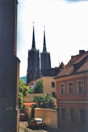Utsikt över Johannes Döparens katedral.