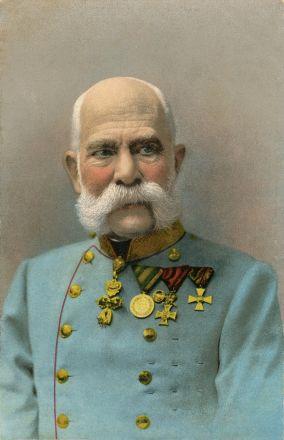 Frans Josef, kejsare av Österrike 1848-1916 och kung av Ungern 1867-1916.