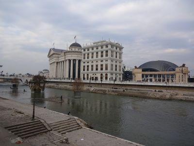 Skopjes andra ansikte.