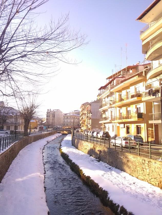 Florina, Grekland (februari 2020)