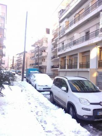Moderna bostadshus i Florina.