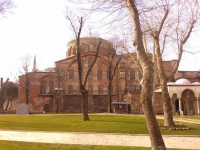 Första gården; Irenekyrkan.