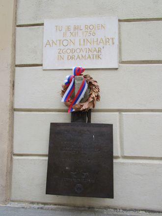 Anton Linhart - Radovljicas store son.