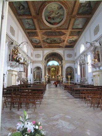 En blick in i katedralen.