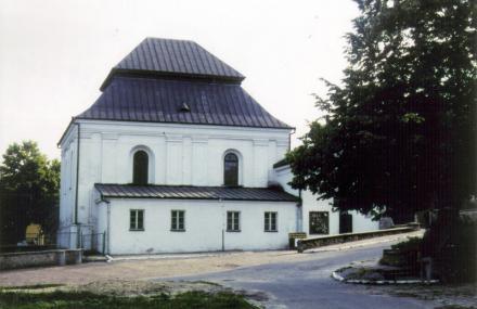 Synagogan i Szczebrzesyn; ort i östra Polen, sydost om Lublin. Foto: Ulf Irheden.