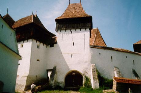 Kyrkborgen i Deutsch-Weisskirch.