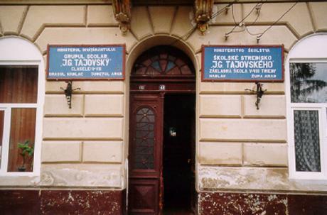 Grundskolan i Nădlac/Nadlak.